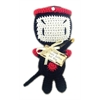 Mirage Pet Products Knit Knacks Miyagi Organic Cotton Small Dog Toy
