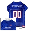 Mirage Pet Products Kansas Jayhawks Jersey Large
