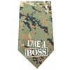 Mirage Pet Products Like a Boss Screen Print Bandana Digital Camo