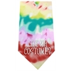 Mirage Pet Products Like my Costume Screen Print Bandana Tie Dye