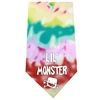 Mirage Pet Products Lil Monster Screen Print Bandana Tie Dye