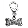 Mirage Pet Products Lobster Claw Bone Charm Clear