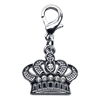 Mirage Pet Products Lobster Claw Crown Charm  Clear