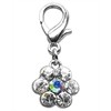 Mirage Pet Products Lobster Claw Flower Charm Clear