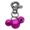 Mirage Pet Products Lobster Claw Bell Charm Bright Pink .