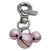 Mirage Pet Products Lobster Claw Bell Charm Light Pink .