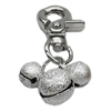 Mirage Pet Products Lobster Claw Bell Charm Silver .