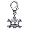 Mirage Pet Products Lobster Claw Skull Charm  Blue