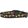 Mirage Pet Products Neon Love Nylon Dog Collars Medium