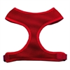 Mirage Pet Products Soft Mesh Harnesses Red Small
