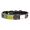 Mirage Pet Products Ice Cream Collars Blue Bones Medium