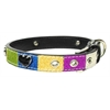 Mirage Pet Products Ice Cream Collars Blue Hearts Large