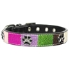 Mirage Pet Products Ice Cream Collars Pink Paws Medium