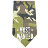 Mirage Pet Products Most Wanted Screen Print Bandana Green Camo