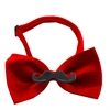Mirage Pet Products Black Moustache Red Bow Tie