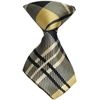 Mirage Pet Products Dog Neck Tie Plaid Cream