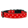 Mirage Pet Products Anchors Nylon Ribbon Collar Red Medium