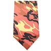 Mirage Pet Products Plain Patterned Bandana Orange Camo