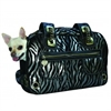 Mirage Pet Products Metallic Zebra Rock Airline Pet Carrier