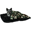 Mirage Pet Products Army Camouflage Pet Pockets Bedding for Pets that Burrow