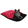 Mirage Pet Products Red Skully Pet Pockets Bedding for Pets that Burrow