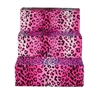 Mirage Pet Products Hot Pink Cheetah Pet Steps