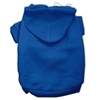 Mirage Pet Products Blank Hoodies Blue Size XXXL(20)