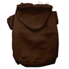 Mirage Pet Products Blank Hoodies Brown Size XS (8)