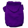 Mirage Pet Products Blank Hoodies Purple Size S (10)
