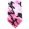 Mirage Pet Products Plain Patterned Bandana Pink Camo