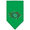 Mirage Pet Products Fireworks Rhinestone Bandana Emerald Green Large
