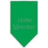 Mirage Pet Products Home Wrecker Rhinestone Bandana Emerald Green Small