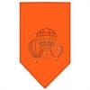 Mirage Pet Products Hot Air Balloons Rhinestone Bandana Orange Large