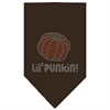 Mirage Pet Products Lil Punkin Rhinestone Bandana Cocoa Large