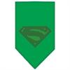 Mirage Pet Products Super! Rhinestone Bandana Emerald Green Large