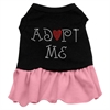 Mirage Pet Products Adopt Me Dresses Black with Pink Lg (14)