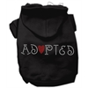 Mirage Pet Products Adopted Hoodie Black XS (8)