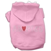 Mirage Pet Products Adopted Hoodie Pink XS (8)