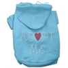 Mirage Pet Products Adopt Me Rhinestone Hoodie Baby Blue XXXL(20)