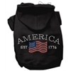 Mirage Pet Products Classic American Hoodies Black XL (16)