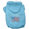 Mirage Pet Products Classic American Hoodies Baby Blue XXXL(20)