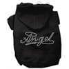 Mirage Pet Products Angel Rhinestud Hoodie Black L (14)