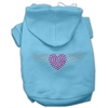 Mirage Pet Products Aviator Hoodies Baby Blue XXXL(20)