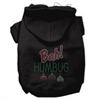 Mirage Pet Products Bah Humbug Rhinestone Hoodies Black XS (8)