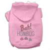 Mirage Pet Products Bah Humbug Rhinestone Hoodies Pink XXXL(20)