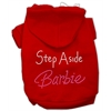 Mirage Pet Products Step Aside Barbie Hoodies Red XS (8)