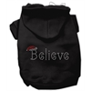 Mirage Pet Products Believe Hoodies Black XS (8)
