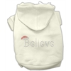 Mirage Pet Products Believe Hoodies Cream M (12)