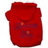 Mirage Pet Products Birthday Boy Hoodies Red XS (8)