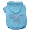 Mirage Pet Products Birthday Girl Hoodies Baby Blue XXXL(20)
